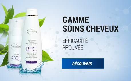 Gamme soins cheveux